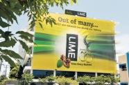 Lime shares