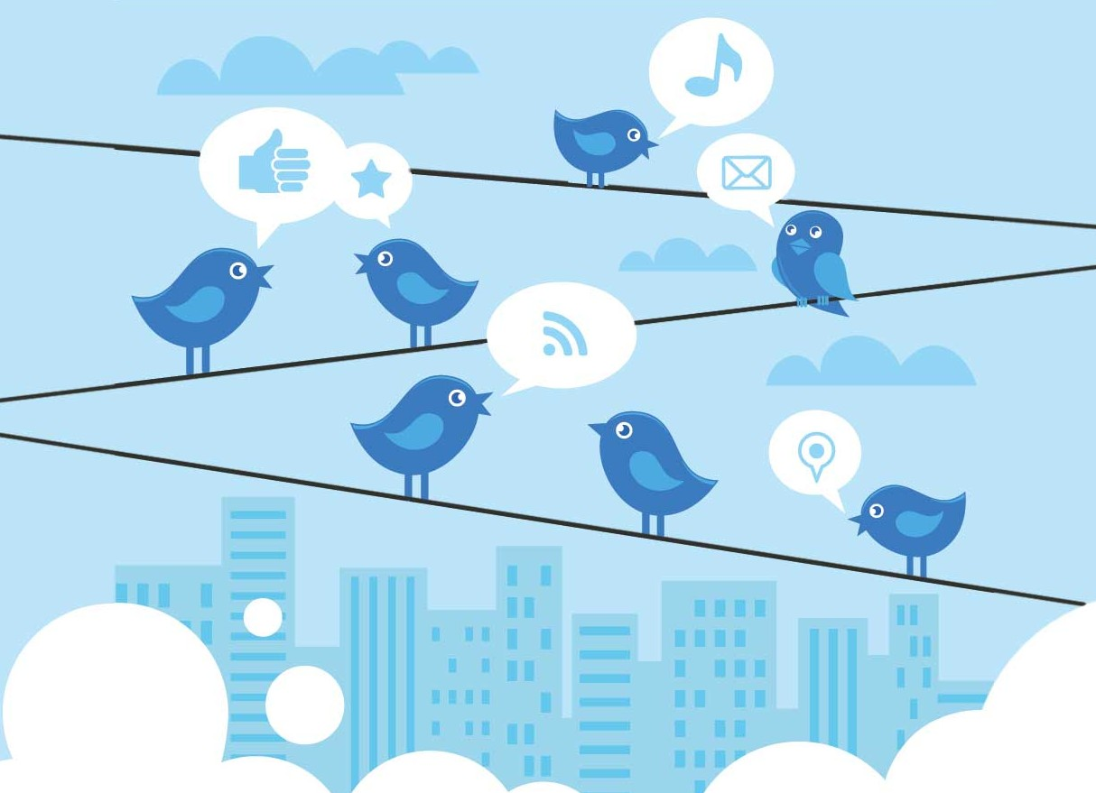 Twitter news on research